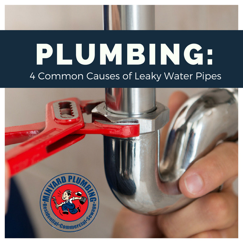 Plumbing: 4 Common Causes of Leaky Water Pipes