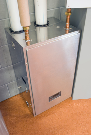 A water heater can provide enough hot water for the whole family